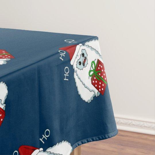 Yeti Xmas Tablecloth