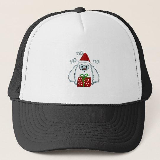 Yeti Xmas Trucker Hat