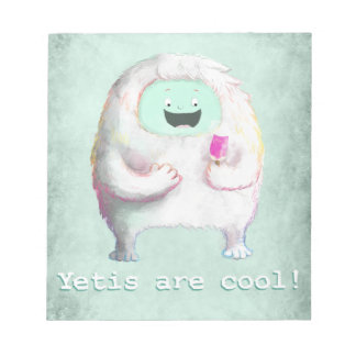Yetis are Cool Memo Notepad