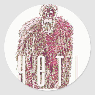 YetiSticker Classic Round Sticker