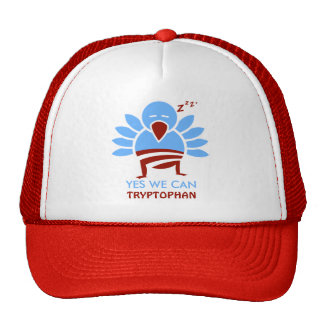 Yew We Can Tryptophan Hats