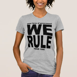 YFOG - WE RULE 1986 Tour Shirt