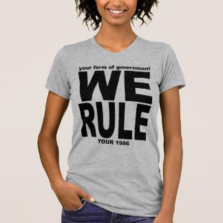 YFOG - WE RULE 1986 Tour Shirt