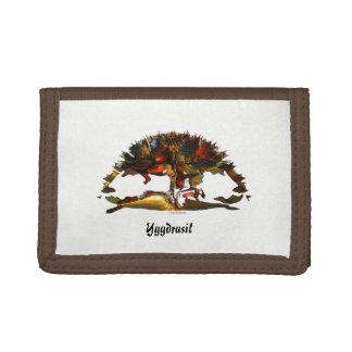 Yggdrasil - The Tree of Life Tri-fold Wallet