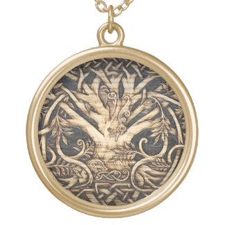 Yggdrasil - Tree of Life - Pendant - Large Gold