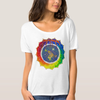 YHWH COVERS EARTH~Canvas Slouchy T-Shirt