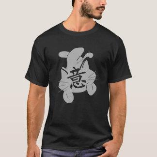 YI CAT BLACK T-SHIRT