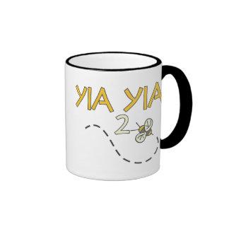 YiaYia 2 Bee Ringer Mug