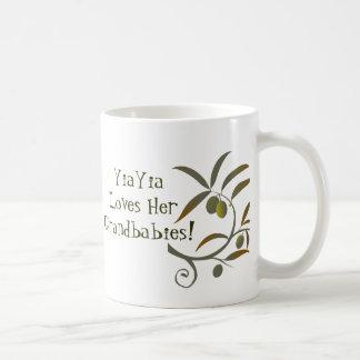 YiaYiaLoves HerGrandbabies Mug