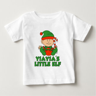 YiaYia's Little Elf Baby T-Shirt