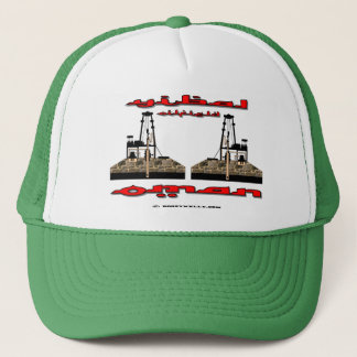 Yibal Oil Field Oman,Oil Field Hat,Oil,Gas, Trucker Hat