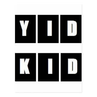 YID KID WEAR POSTCARD