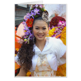 Yim Yai (Big Smile) Card