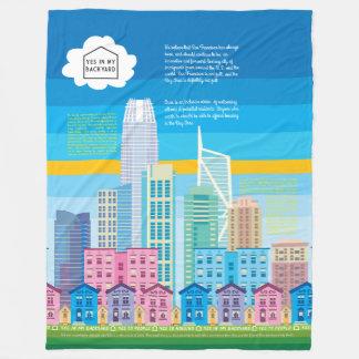 YIMBY Blanket - San Francisco Skyline