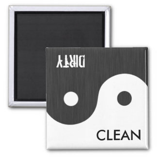 Yin and Yang Clean / Dirty Dish Wsher Magnet