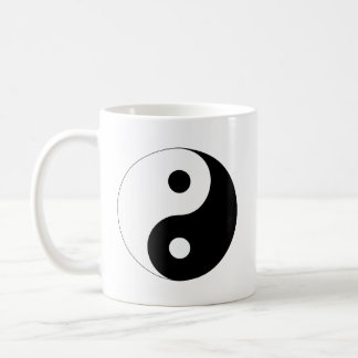 Yin and Yang Coffee Mug