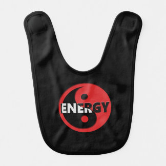 Yin and yang energy concept. bib
