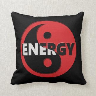 Yin and yang energy concept. cushion
