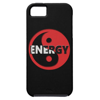 Yin and yang energy concept. tough iPhone 5 case