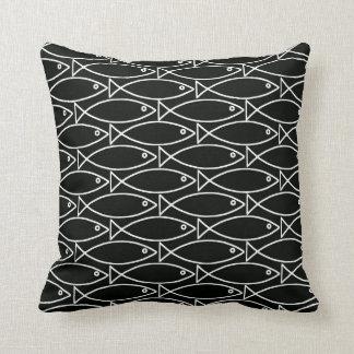 Yin and Yang Fish Pillow