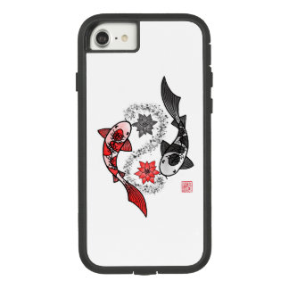 Yin and Yang Koi Fish Phone Case