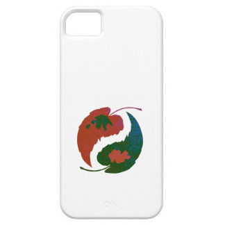 Yin and Yang Leaves Barely There iPhone 5 Case
