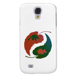 Yin and Yang Leaves Galaxy S4 Case