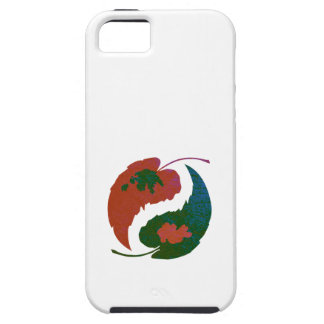 Yin and Yang Leaves iPhone 5 Cover