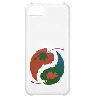 Yin and Yang Leaves iPhone 5C Case