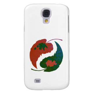 Yin and Yang Leaves Samsung Galaxy S4 Cover