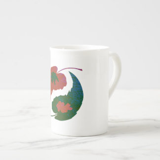 Yin and Yang Leaves Tea Cup