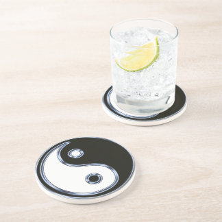 Yin and Yang Medallion Coaster