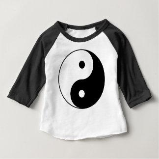 Yin and Yang Motivational Philosophical Symbol Baby T-Shirt