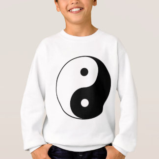 Yin and Yang Motivational Philosophical Symbol Sweatshirt