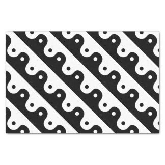 Yin And Yang Sides Tissue Paper