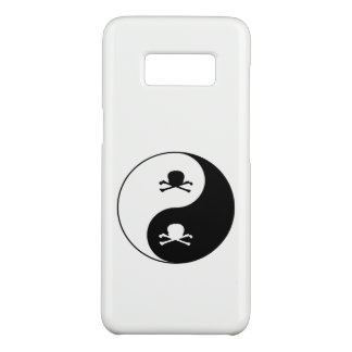 Yin and yang skulls Case-Mate samsung galaxy s8 case