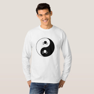 Yin and yang skulls T-Shirt