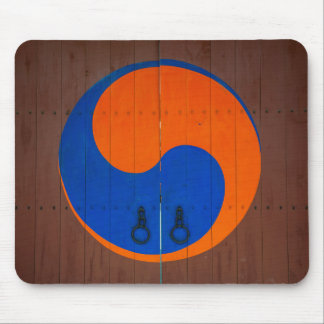 Yin and Yang symbol, South Korea Mouse Pad