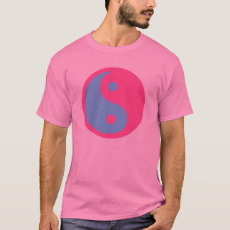 Yin and Yang Transgender symbol. T-Shirt