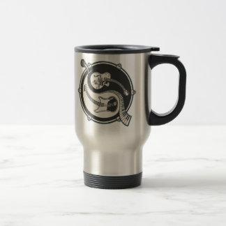 Yin Band 15 Oz Stainless Steel Travel Mug
