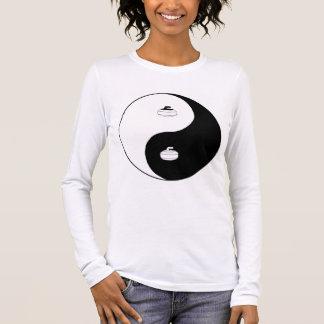 Yin Yang and Zen of Curling Long Sleeve T-Shirt