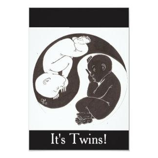 Yin Yang Babies Card