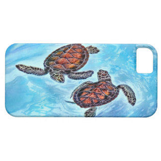 Yin Yang Baby Sea Turtles Barely There iPhone 5 Case