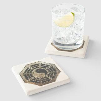 Yin Yang Bagua Stone Coaster