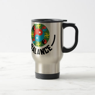 Yin Yang Balance Travel Mug