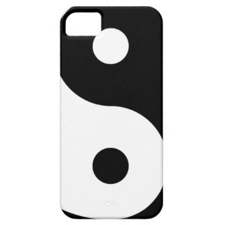 yin yang Basic Line Case For The iPhone 5