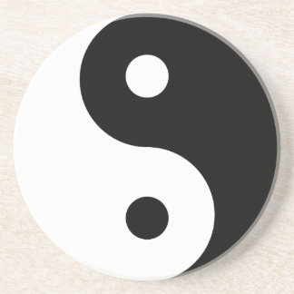 yin yang Basic Line Coaster