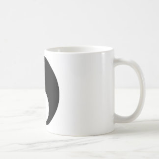 yin yang Basic Line Coffee Mug