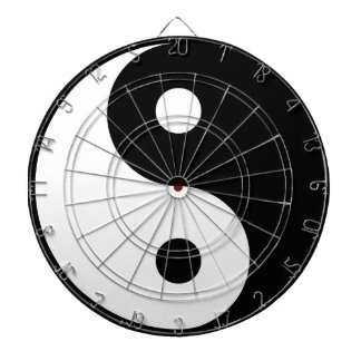 yin yang Basic Line Dartboard