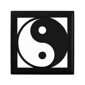 yin yang Basic Line Gift Box